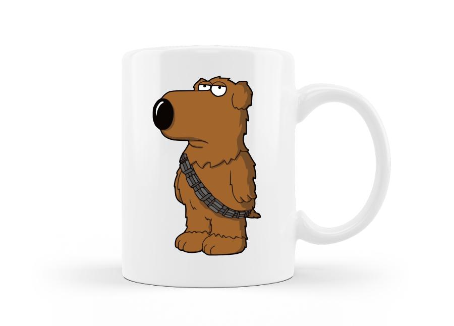 Brian like Chewie - Family Guy bögre kép