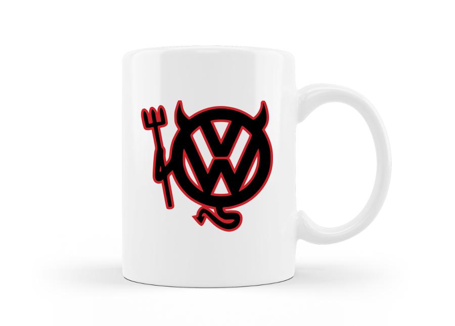 Volkswagen ördög bögre kép