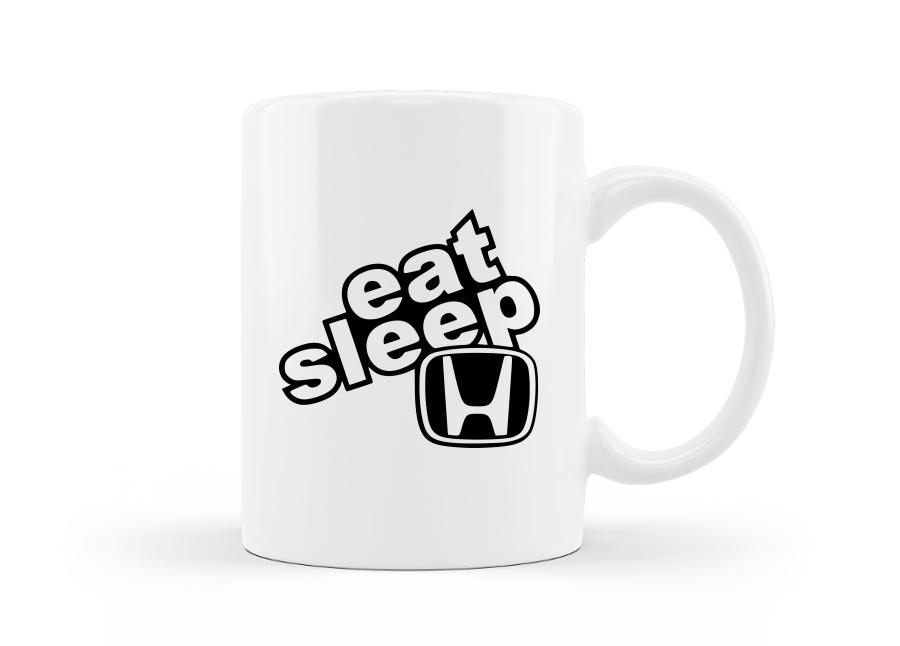 Evés, alvás, Honda bögre kép