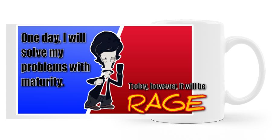 Roger Rage (Amerikai Fater) bögre kép
